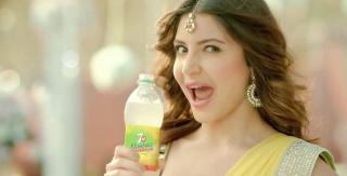 Anushka Sharma in 7UP Nimbooz TV Commercial