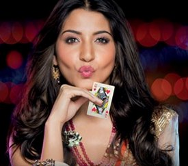 Anushka Sharma as the Queen of Hearts