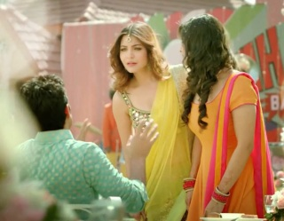 Anushka Sharma in Ghagra Choli in 7UP Nimbooz TV Ad